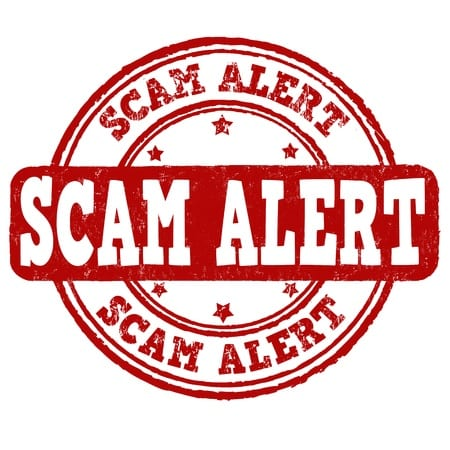 SCAM WARNING: TARGETING OF BANKRUPTCY FILERS